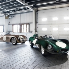 Jaguar to Enter Works D-Type and C-Type Racers at Goodwood and Nurburgring