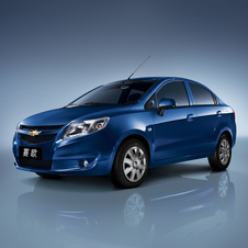 The Chevy Sail is one of its more cars in China