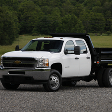 Chevrolet Silverado Work Truck Long Box SRW