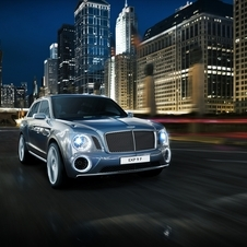 Bentley wants the car to have at least light off-road ability and still be luxurious