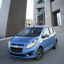 Chevy Spark Offers Inexpensive City Car with Motorcycle-tinged Interior