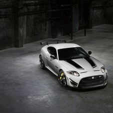 It is 0.3 seconds faster than the XKR-S to 60mph