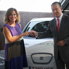 The city hall in Madrid has received two Altea XL EVs from Seat