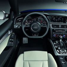 The interior comes standard with leather, power sport seats