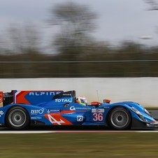 Alpine had the second and third fastest cars in the LMP2 class
