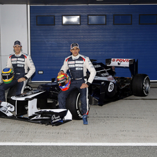 Williams F1 Reveals FW34 for 2012 at Jerez