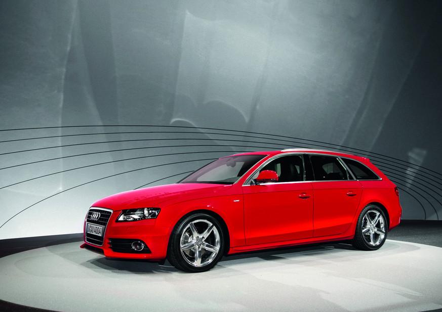 Audi A4 Avant 30 Tdi Quattro S Line 1 Foto Und 11 Technische