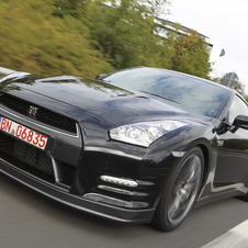 For 2012 Nissan has pumped power of the GT-R up to 550 hp.