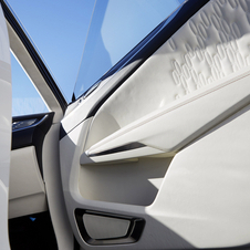 Interior detail from the Lincoln MKC