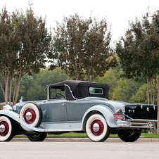 Packard 840 Deluxe Eight Convertible Coupe