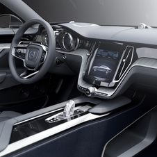 The interior mixes leather and stainless steel