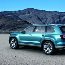 It would be cheaper than the Touareg and aimed at the American market