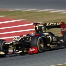 Grosjean and Lotus Fastest Again on Day 2 of F1 Testing