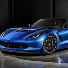 With 625hp the new Z06 becomes the most powerful convertible ever produced by Chevrolet