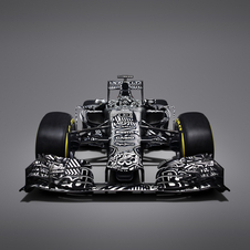 Red Bull surprised with a camouflaged livery with the RB11