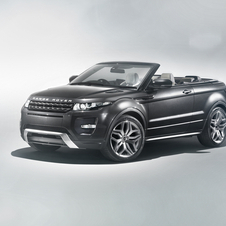 The Evoque Convertible was shown in 2012