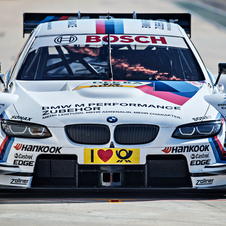 BMW has not yet released images of the M4 DTM or its new Red Bull livery