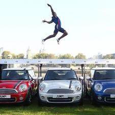Mini Celebrates London Olympics by Having Long Jumper Leap Over Special Edition Mini