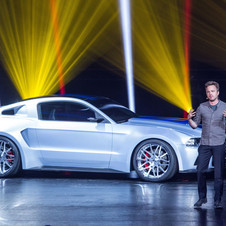 Actor Aaron Paul was at the gaming expo E3 for the car's debut