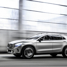 GLA appears to be a crossover that has no plans of going off road