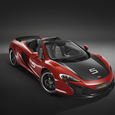 To create the Can-Am McLaren based it on the 650S Spider