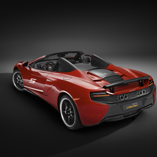 The special model was developed by McLaren Special Operations (MSO), McLaren's performance arm