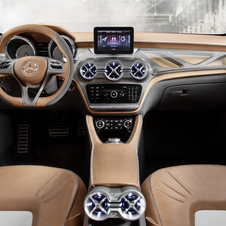 The interior is made from aluminum and leather