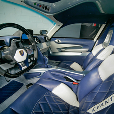 The interior is mostly open to the buyer to design