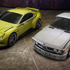 The 3.0 CSL Hommage alongside the iconic 3.0 CSL
