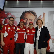 Montezemolo exhorted his team that they must become better, despite winning