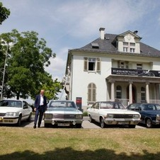 They stopped at the home of the Opel family