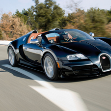 Bugatti Grand Sport Vitesse is the Most Powerful Convertible Ever