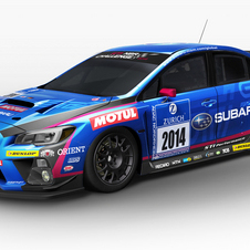 The WRX STI will race in the Nürburgring 24 Hours next year