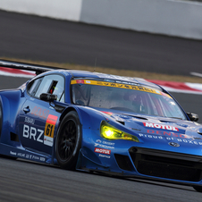 It will also race the BRZ GT300 in the Super GT series