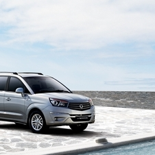 Ssangyong says the car will also carry all of their luggage