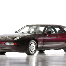 Porsche built just two, four-door 928s