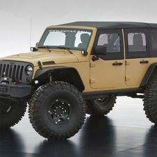 Jeep Wrangler Sand Trooper