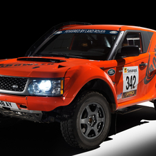 The car conforms to FIA specs for Rally Raid and the Paris-Dakar Rally