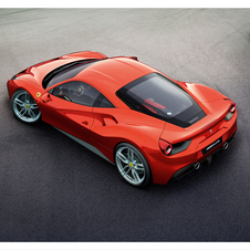 After the California T, the 488 GTB is the second model to use turbo technology