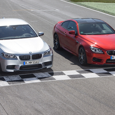 The competition package on the M5 and M6 provide major upgrades for power and handling