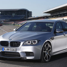 The M5 has even gets a few upgrades by itself