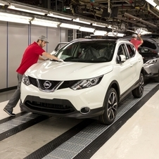The Qashqai is being produced in Sunderland in 24-hour shifts