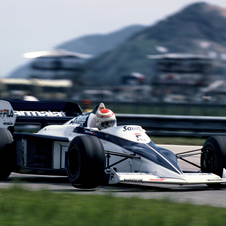 Nelson Piquet won the drivers' championship in the Brabham BT52 30 years ago