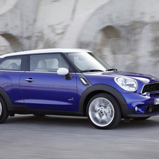 The Paceman is the two door version of the Countryman.