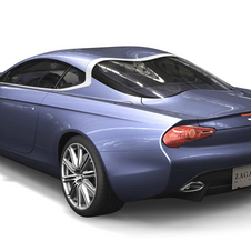 It has the complicated double bubble roof from the DB7 Zagato