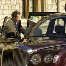The Queen received the limousine in 2002 after two years of work from Bentley