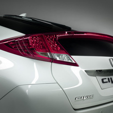 Honda teases the back of the new Civic
