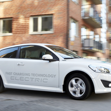 Volvo has been testing the electric C30 since 2009