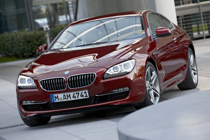 BMW 640d Coupe