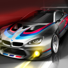 The new BMW M6 GT3 will hit the circuits in 2016